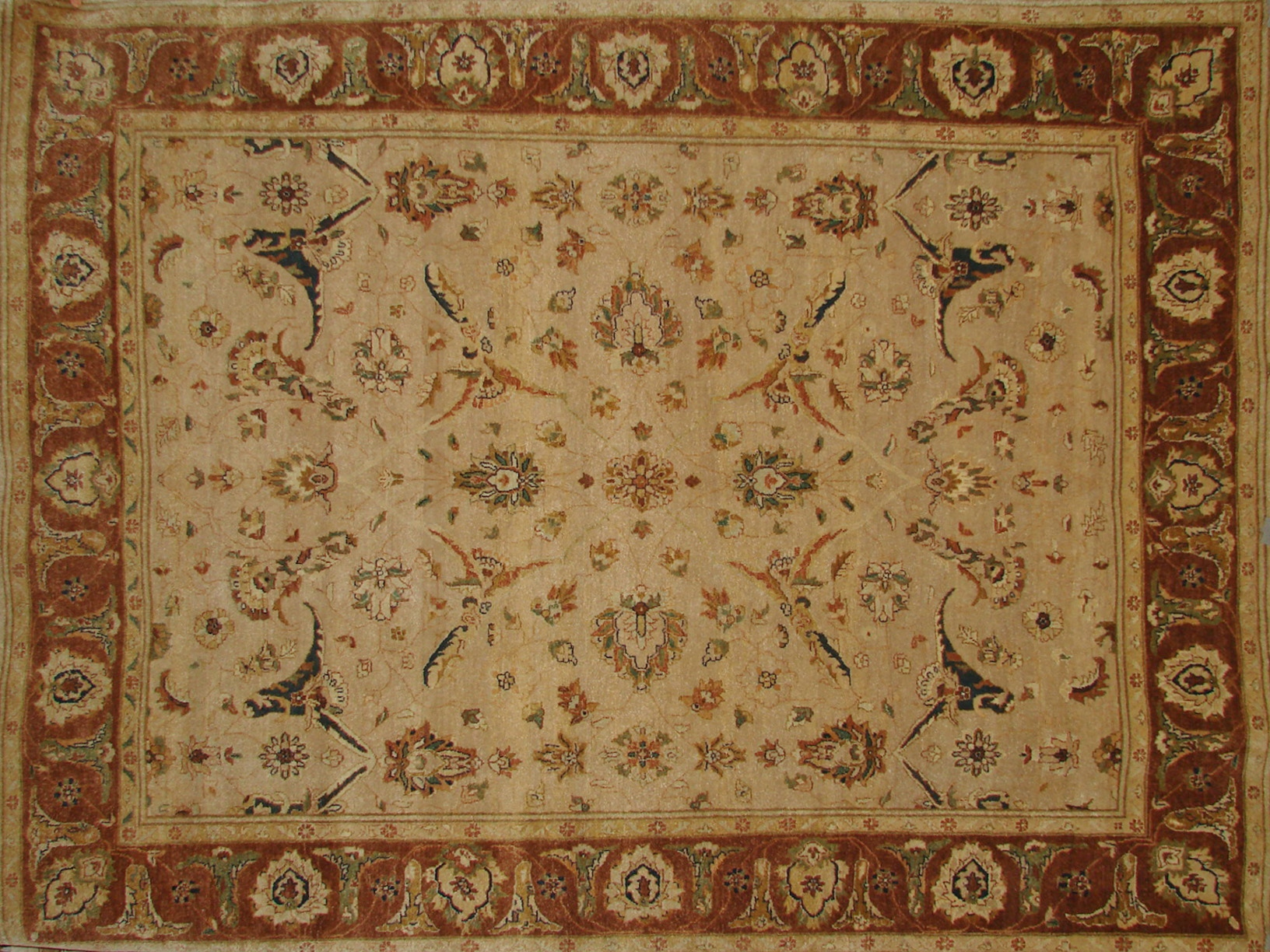 8x10 Traditional Hand Knotted Wool Area Rug - MR2661