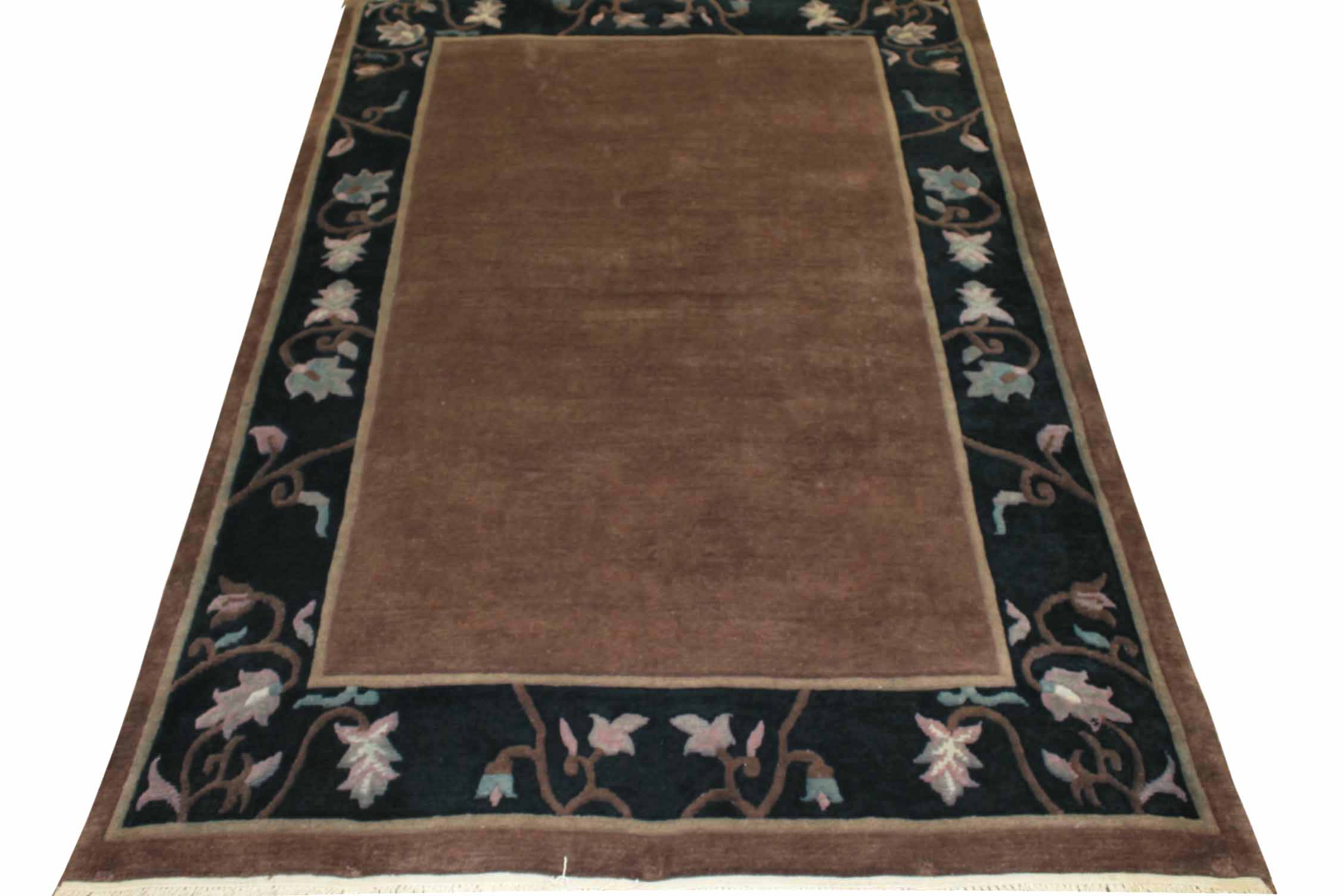 6x9 Contemporary Hand Knotted Wool Area Rug - MR2833