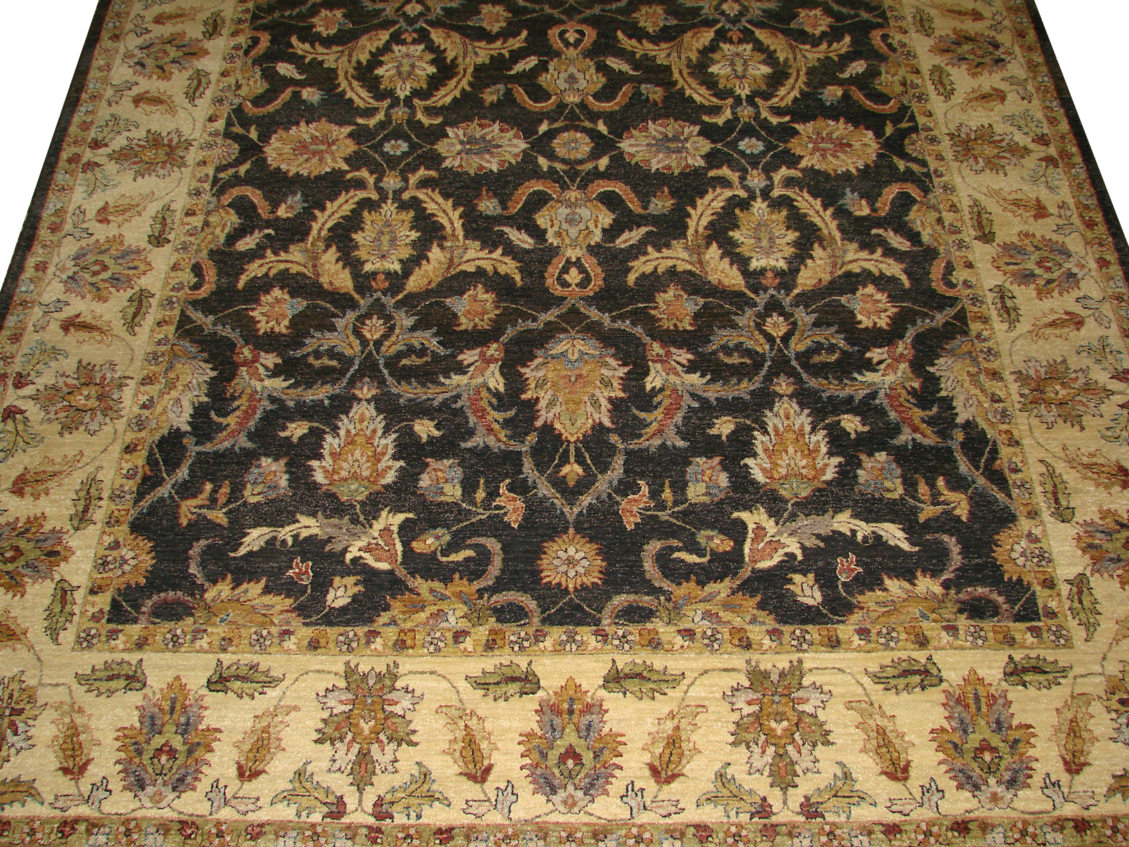 8x10 Traditional Hand Knotted Wool Area Rug - MR2860