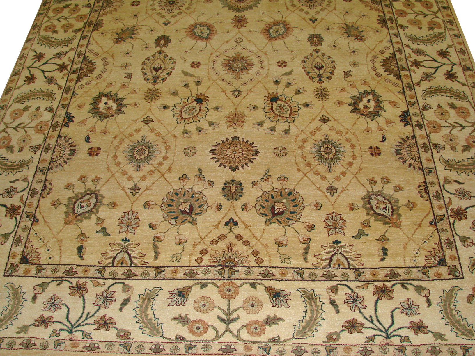 8x10 Traditional Hand Knotted Wool Area Rug - MR3266