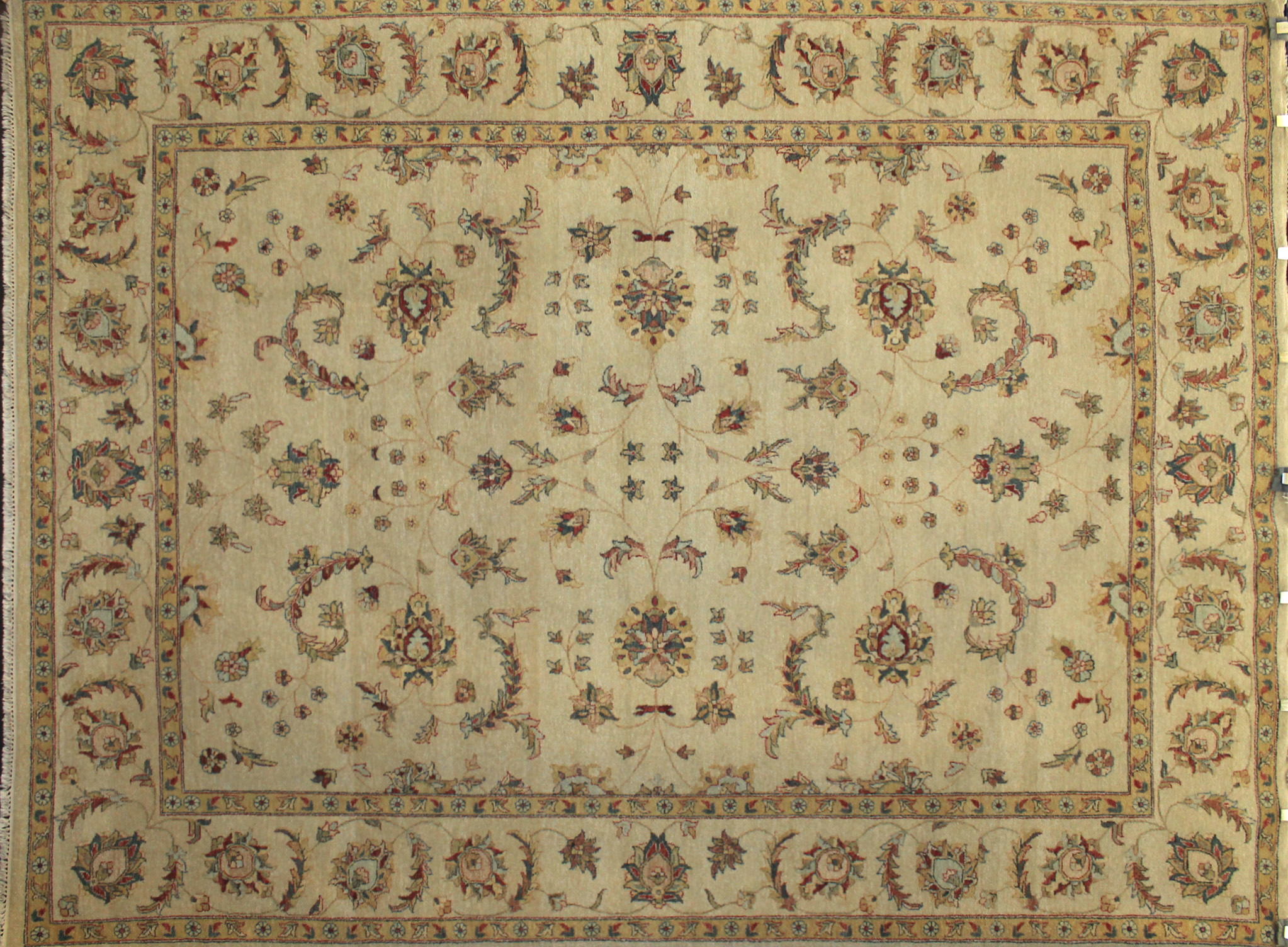9x12 Traditional Hand Knotted Wool Area Rug - MR3419