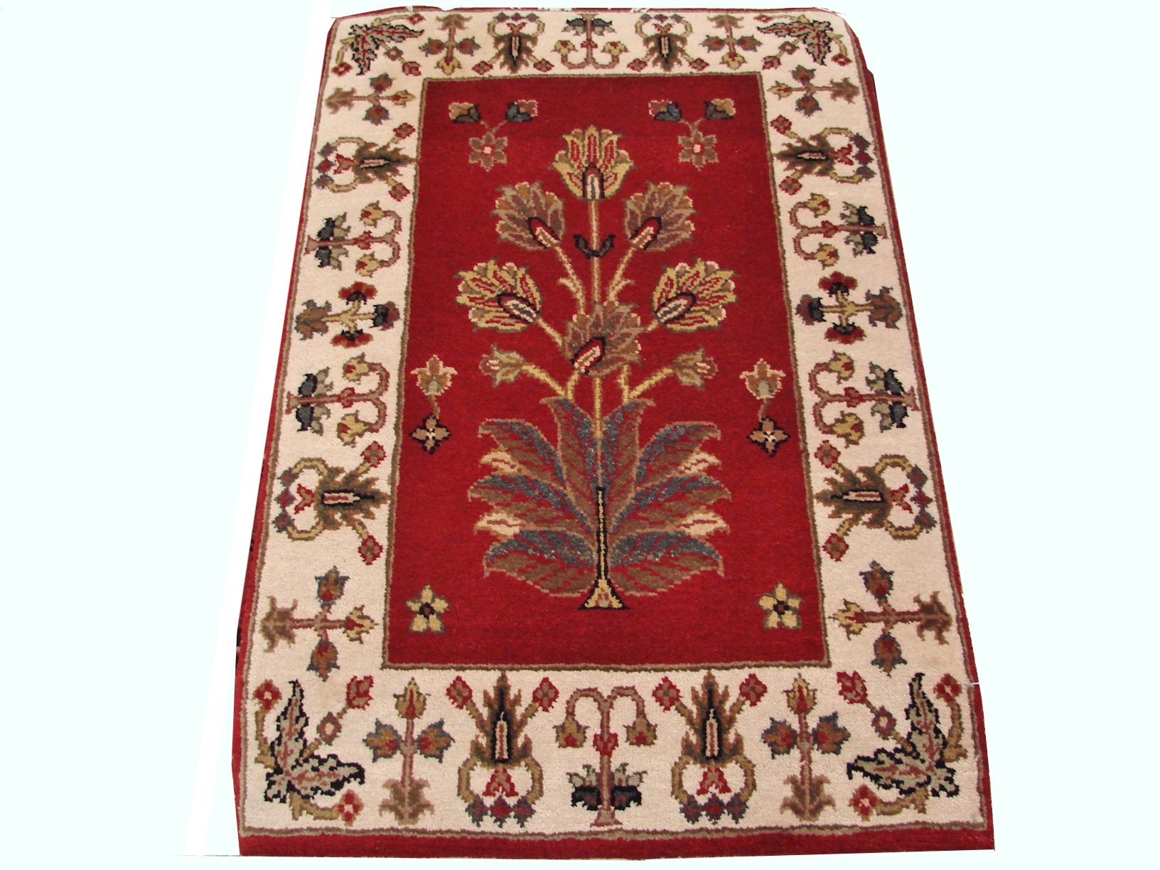 2X3 Jaipur Hand Knotted Wool Area Rug - MR4684