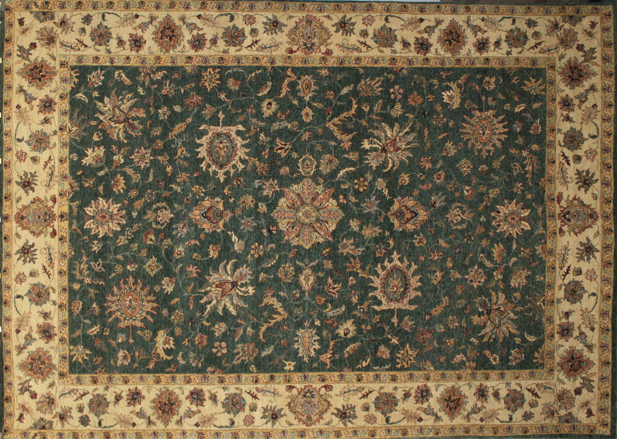 9x12 Traditional Hand Knotted Wool Area Rug - MR4911