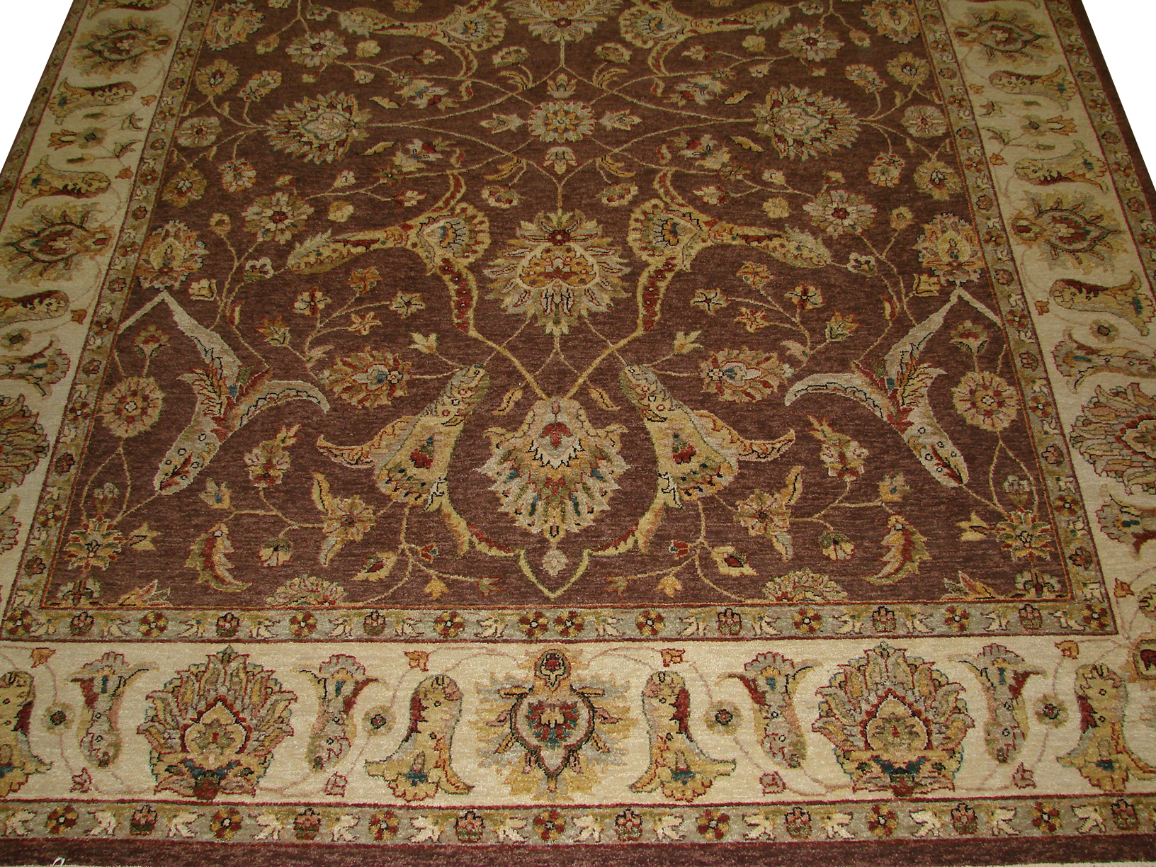 8x10 Traditional Hand Knotted Wool Area Rug - MR5171