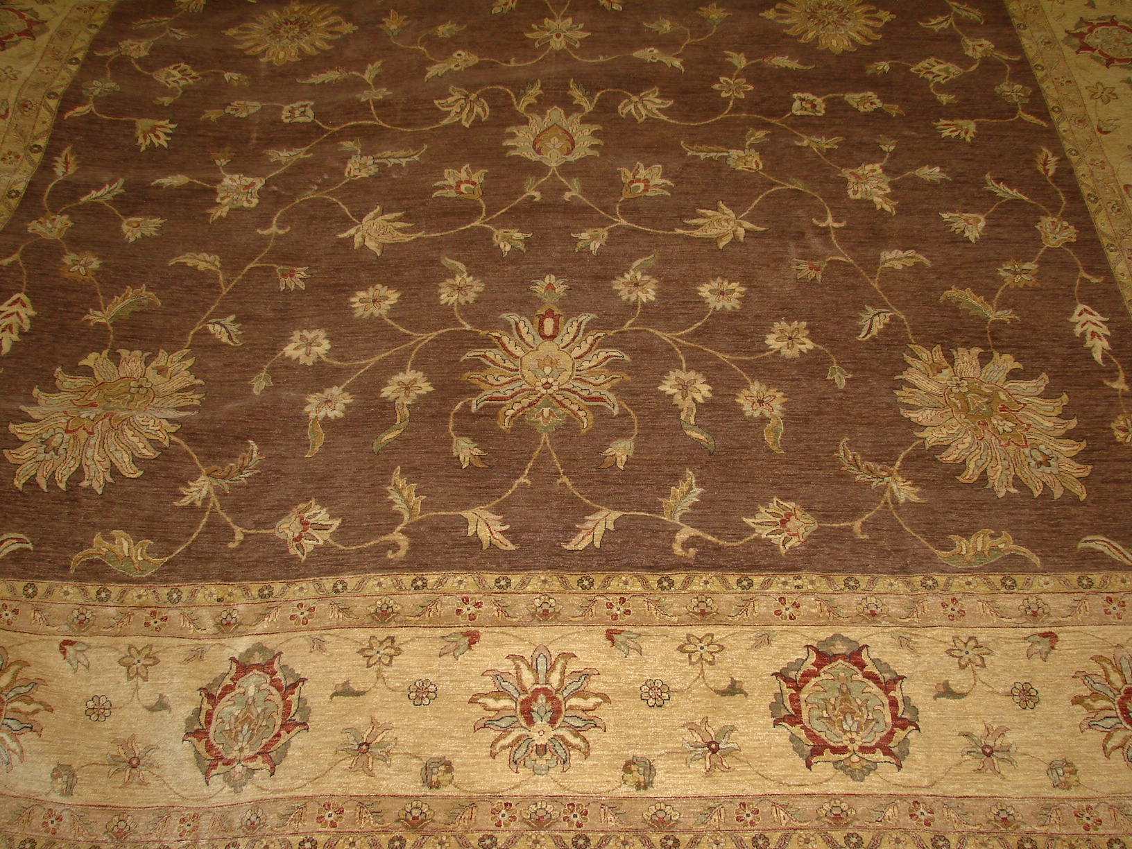OVERSIZE Traditional Hand Knotted Wool Area Rug - MR5979
