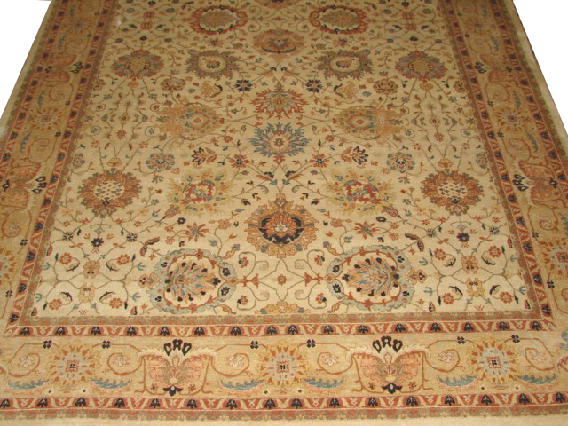 9x12 Traditional Hand Knotted Wool Area Rug - MR6098