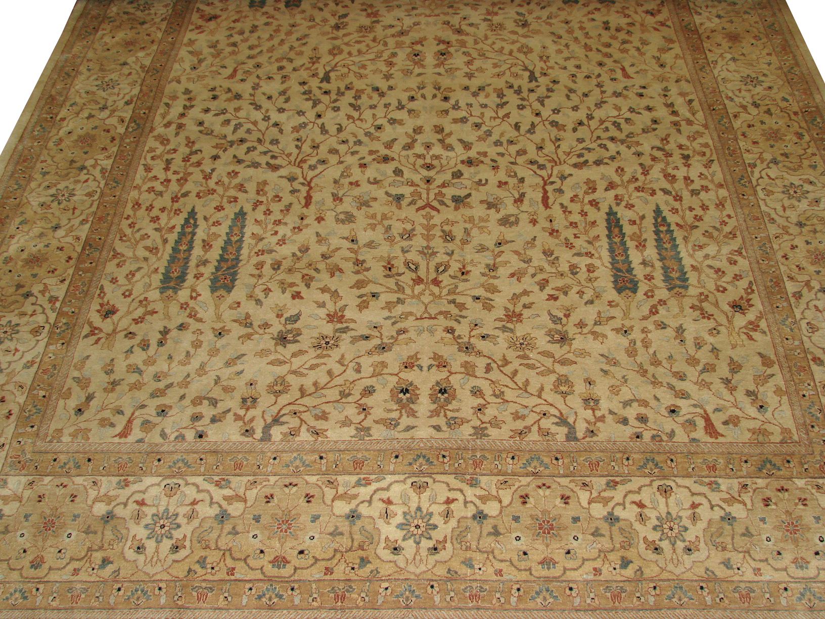 10x14 Traditional Hand Knotted Wool Area Rug - MR6099