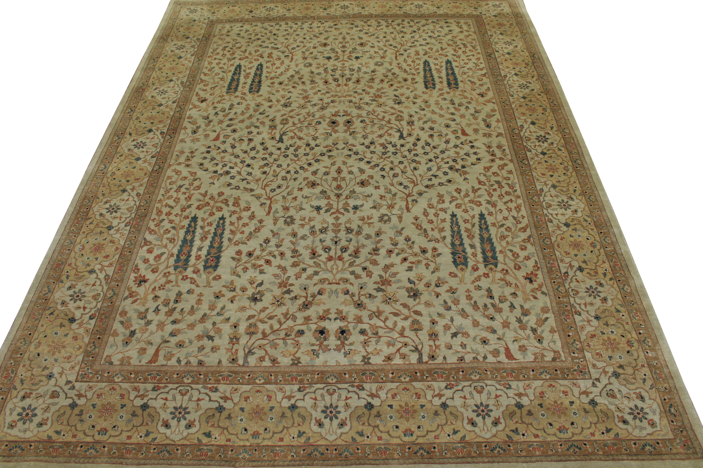 9x12 Traditional Hand Knotted Wool Area Rug - MR6102