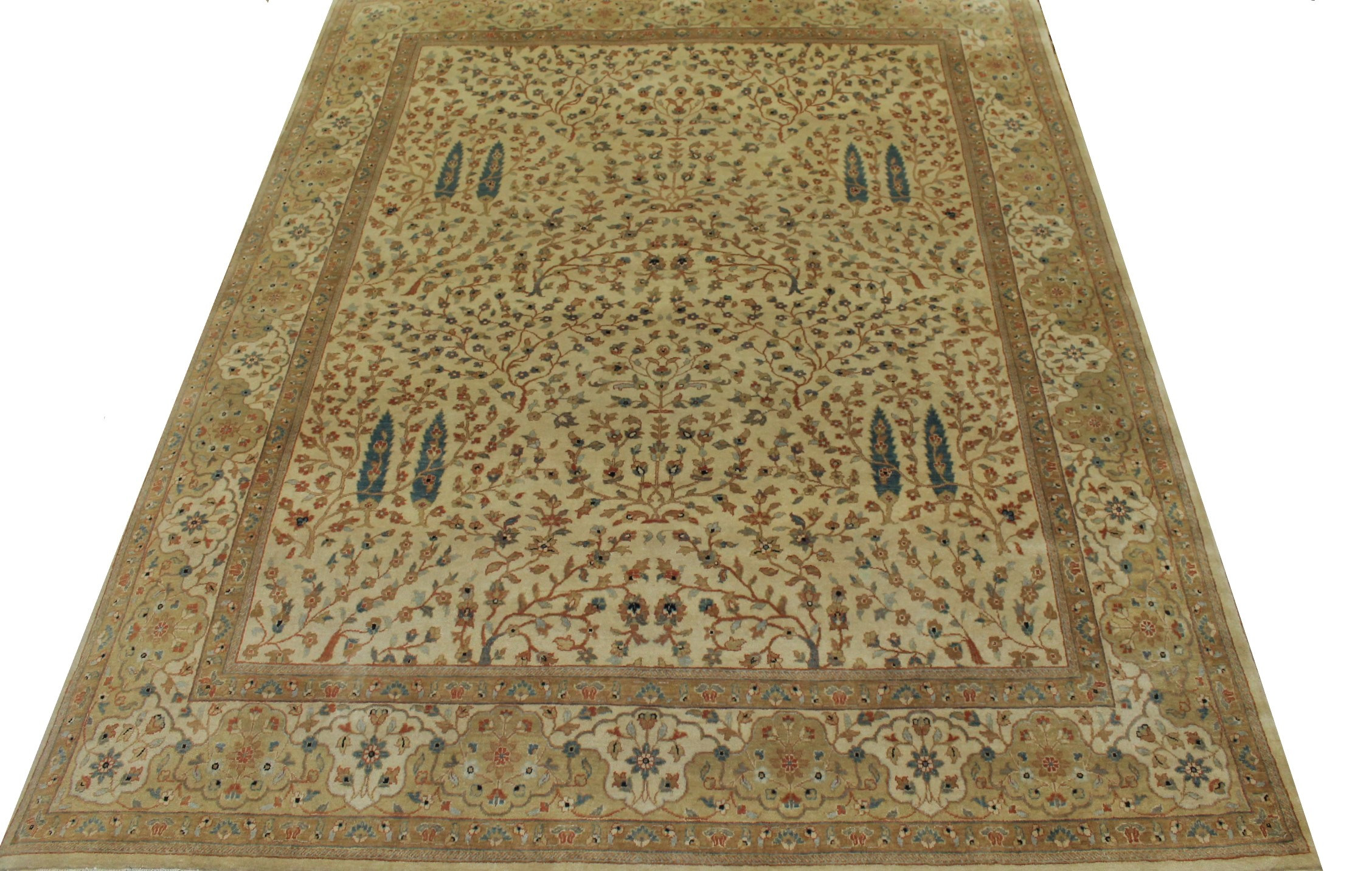 8x10 Traditional Hand Knotted Wool Area Rug - MR6105