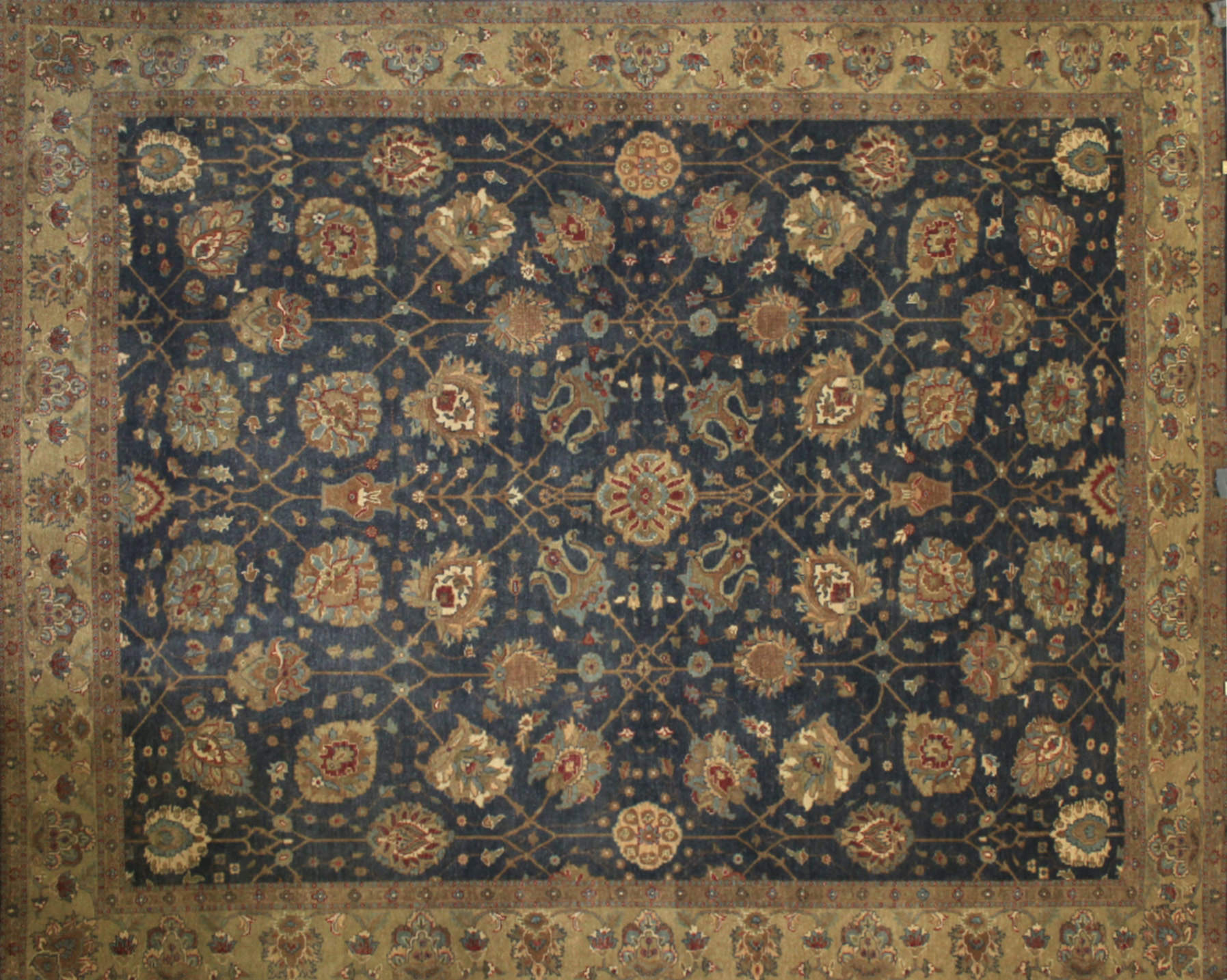 8x10 Traditional Hand Knotted Wool Area Rug - MR6191