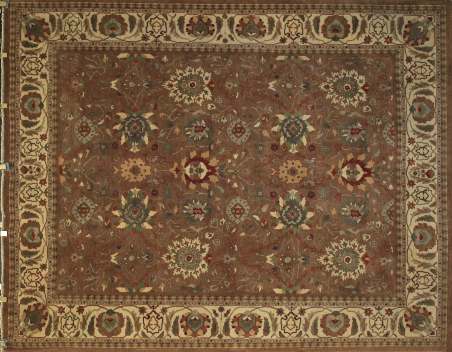 8x10 Traditional Hand Knotted Wool Area Rug - MR6194
