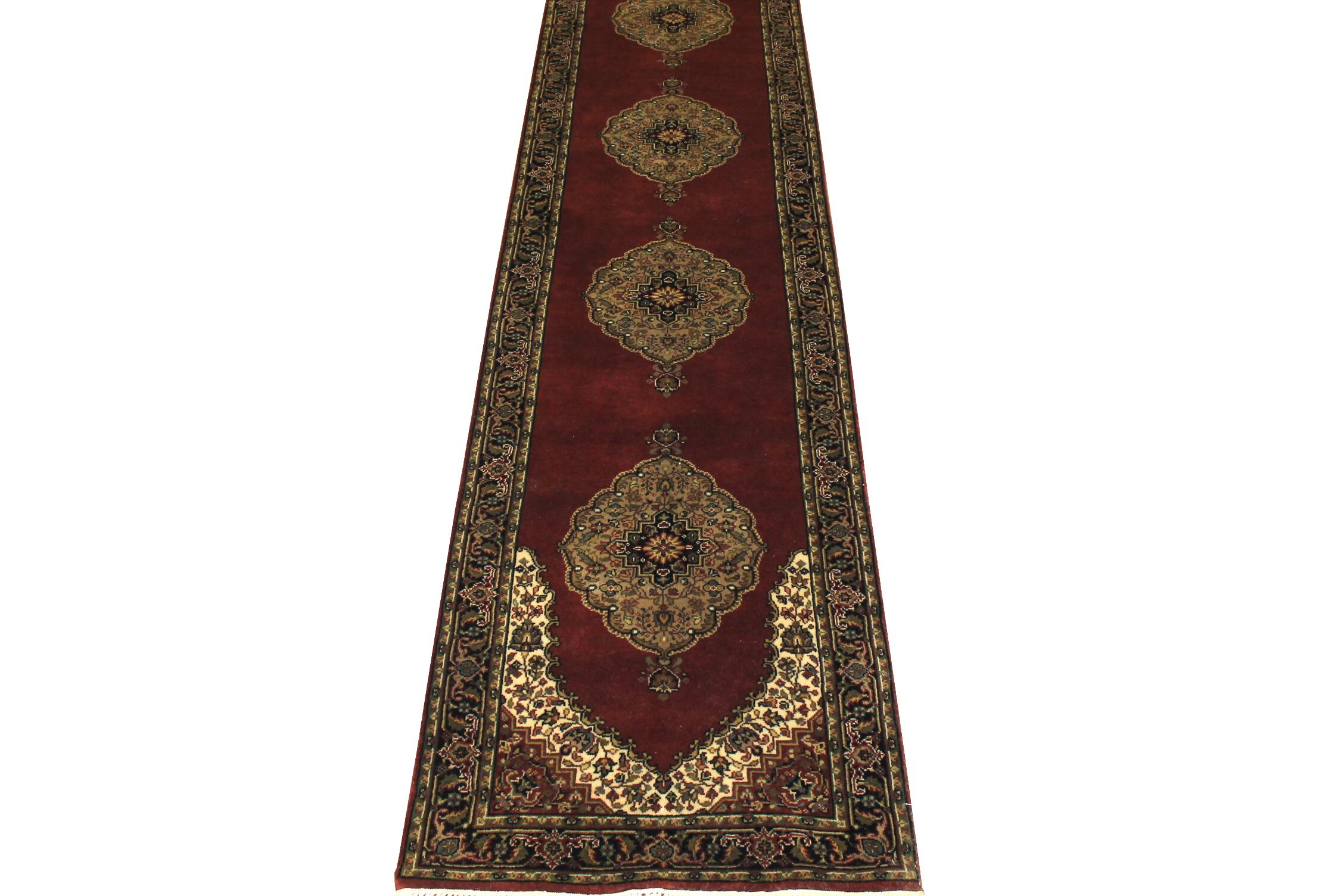 13 ft. & Longer Runner Jaipur Hand Knotted Wool Area Rug - MR6272