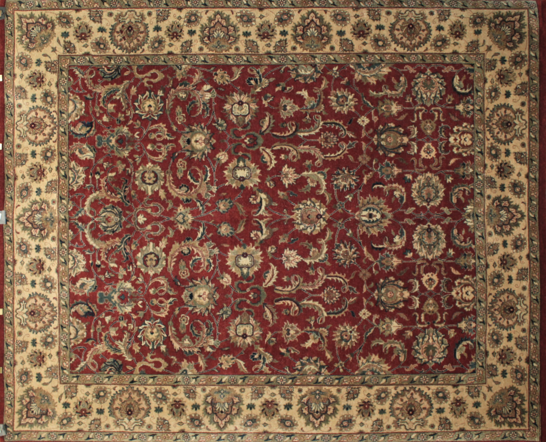 8x10 Traditional Hand Knotted Wool Area Rug - MR6381