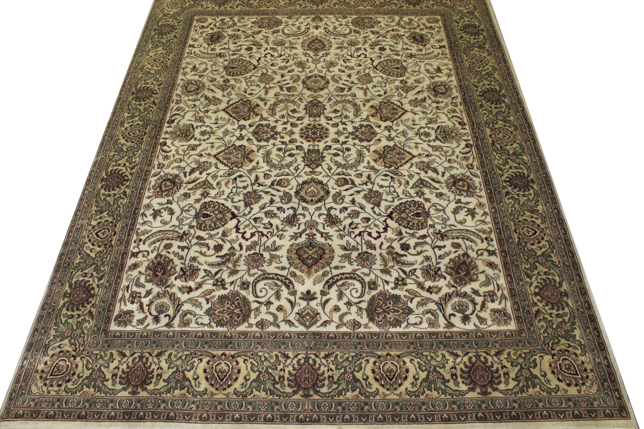 8x10 Traditional Hand Knotted Wool Area Rug - MR6428