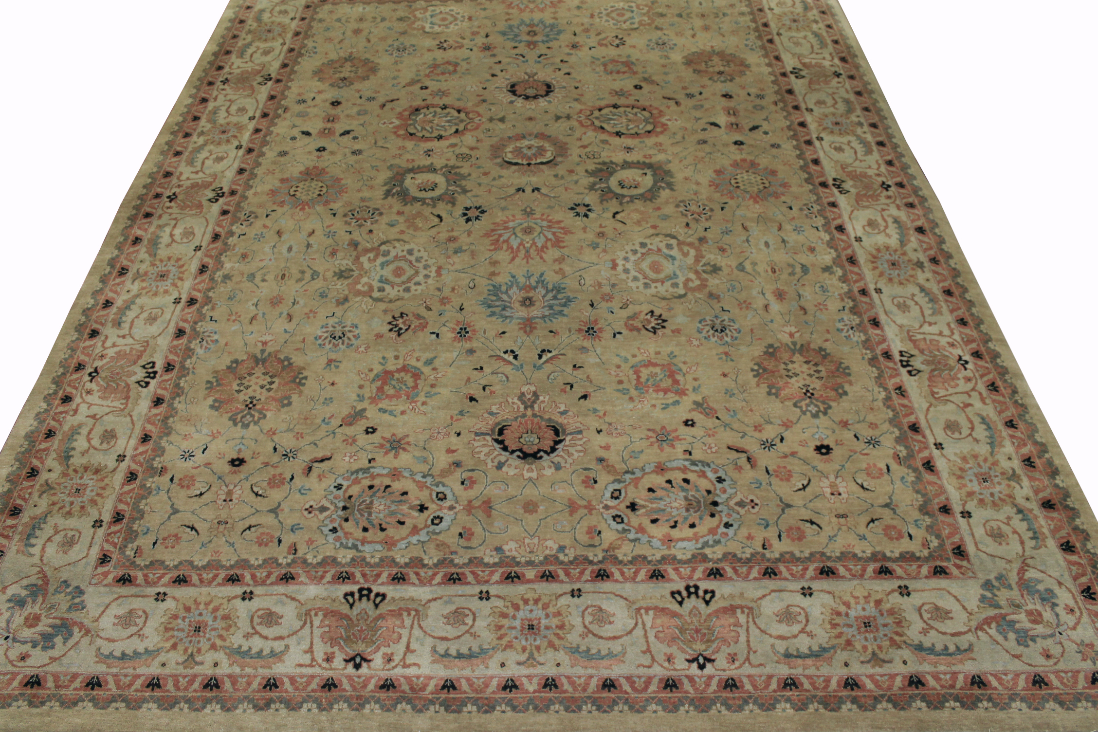 9x12 Traditional Hand Knotted Wool Area Rug - MR6598
