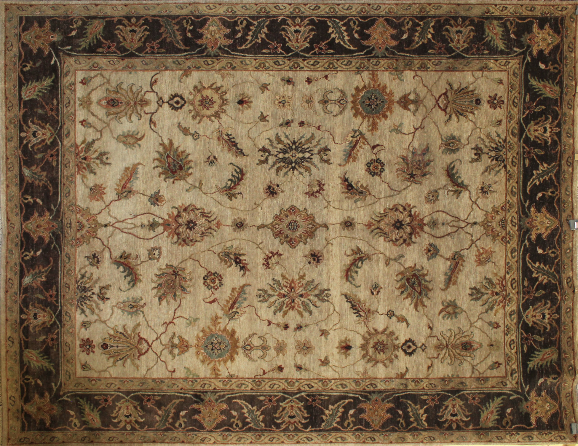 8x10 Traditional Hand Knotted Wool Area Rug - MR7722
