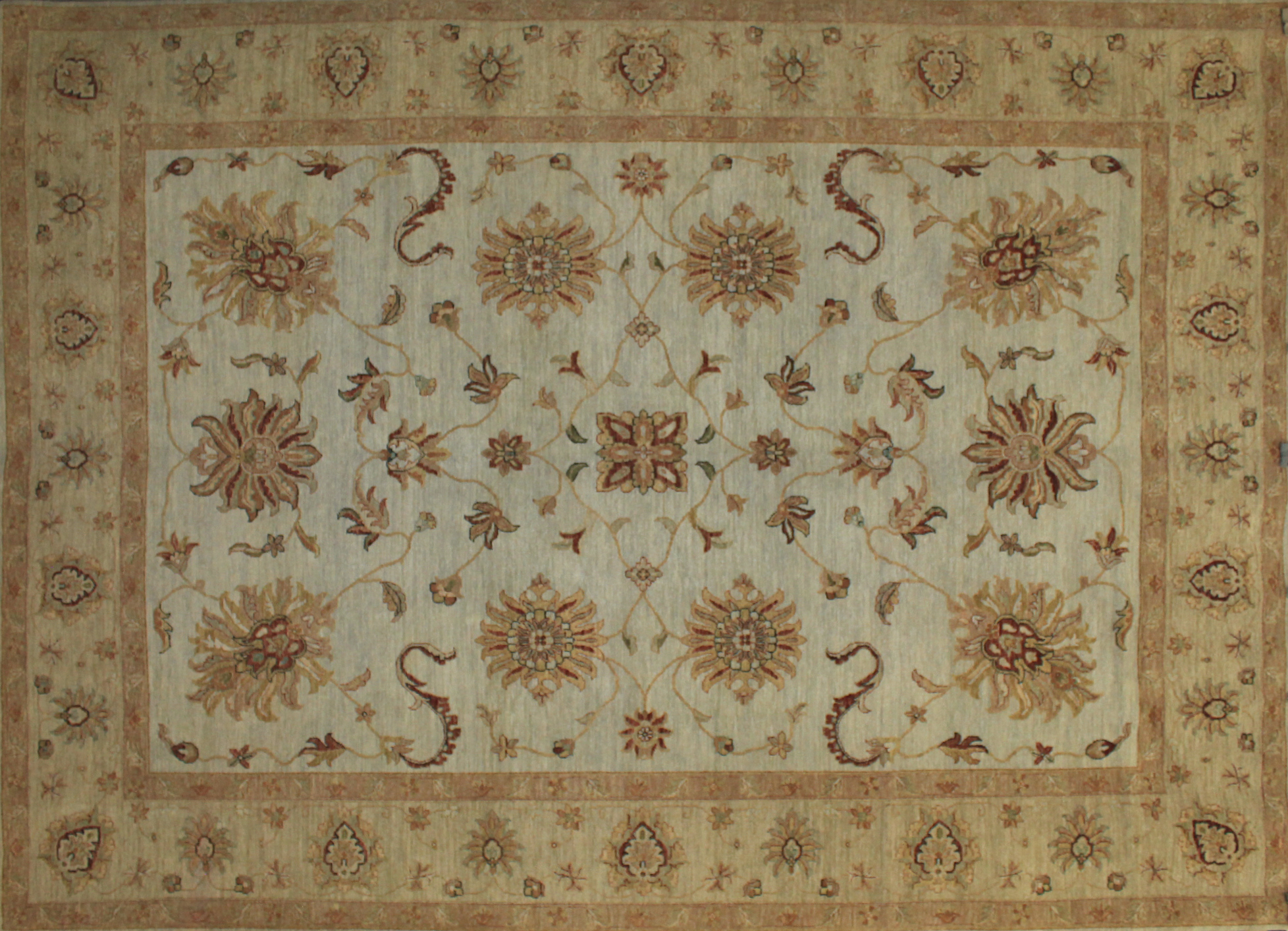 9x12 Traditional Hand Knotted Wool Area Rug - MR7758