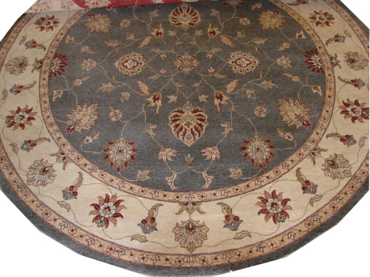 9 ft. & Over Round & Square Traditional Hand Knotted Wool Area Rug - MR7811