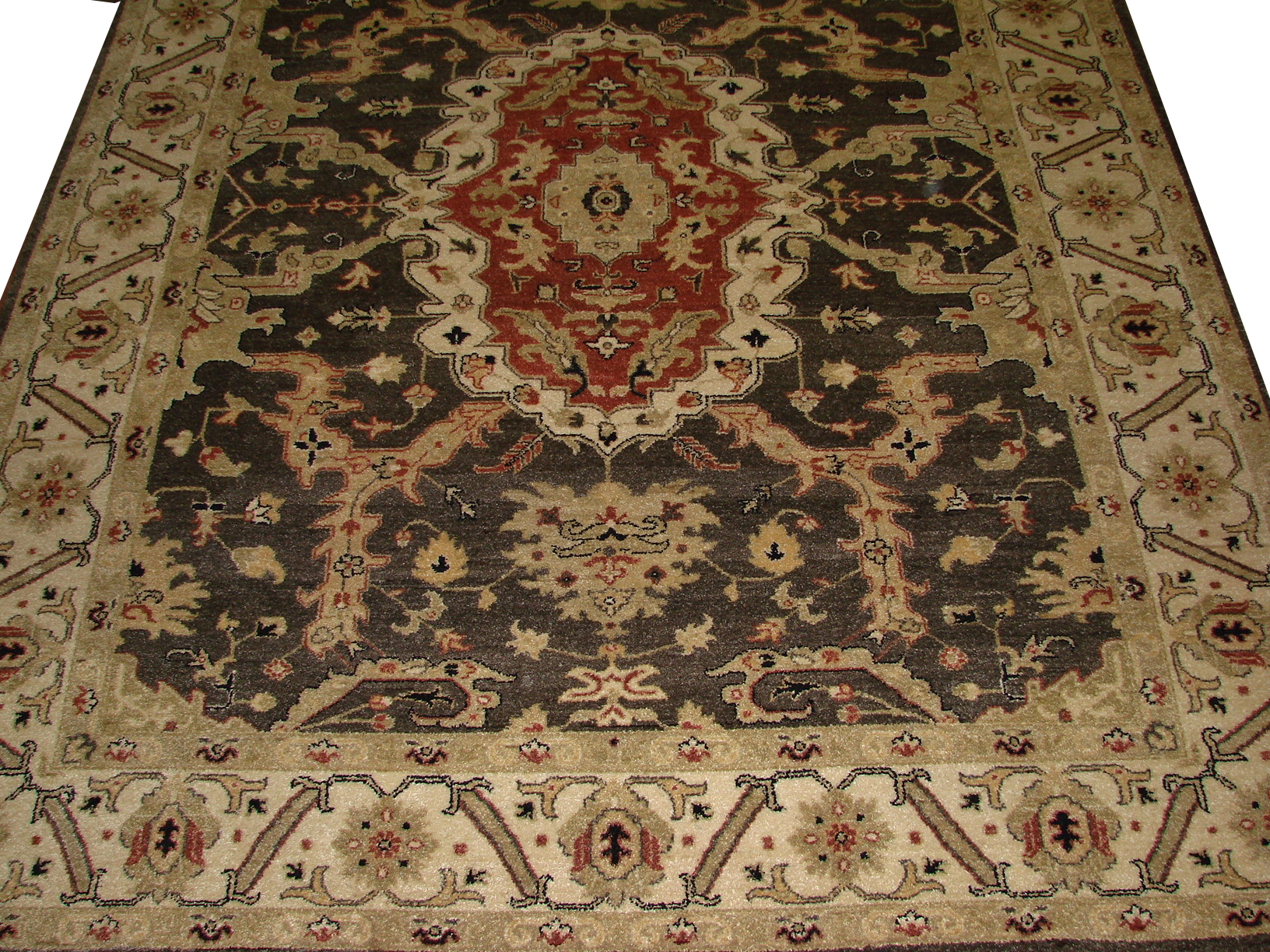 8x10 Traditional Hand Knotted Wool Area Rug - MR8235
