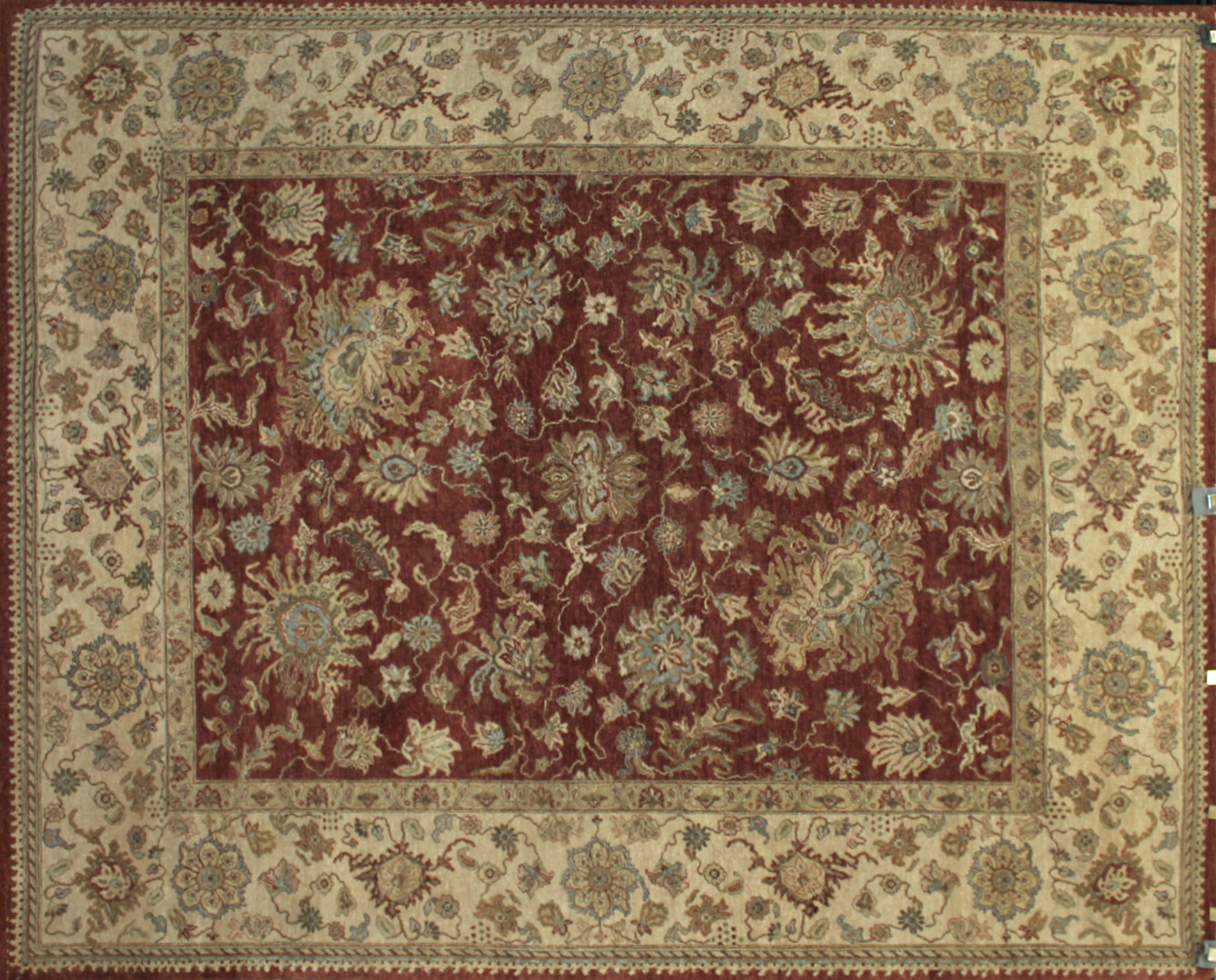 8x10 Traditional Hand Knotted Wool Area Rug - MR8769
