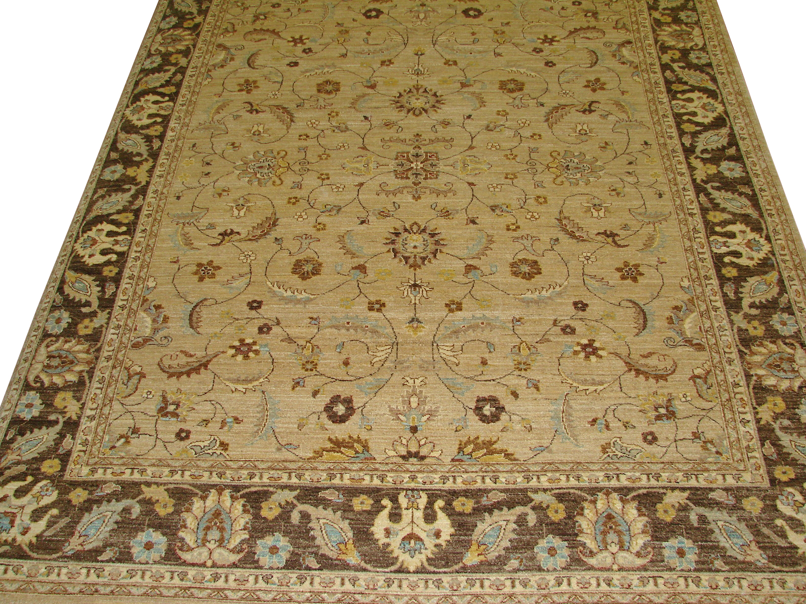 8x10 Peshawar Hand Knotted Wool Area Rug - MR8970
