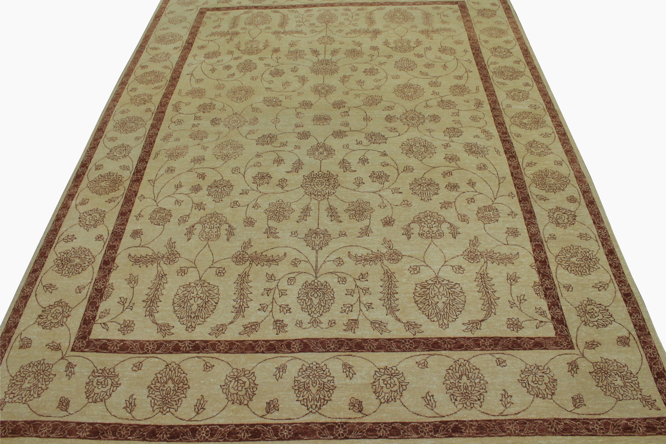 9x12 Contemporary Hand Knotted Wool Area Rug - MR9186