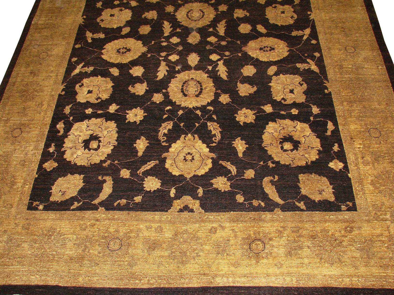 8x10 Peshawar Hand Knotted Wool Area Rug - MR9519