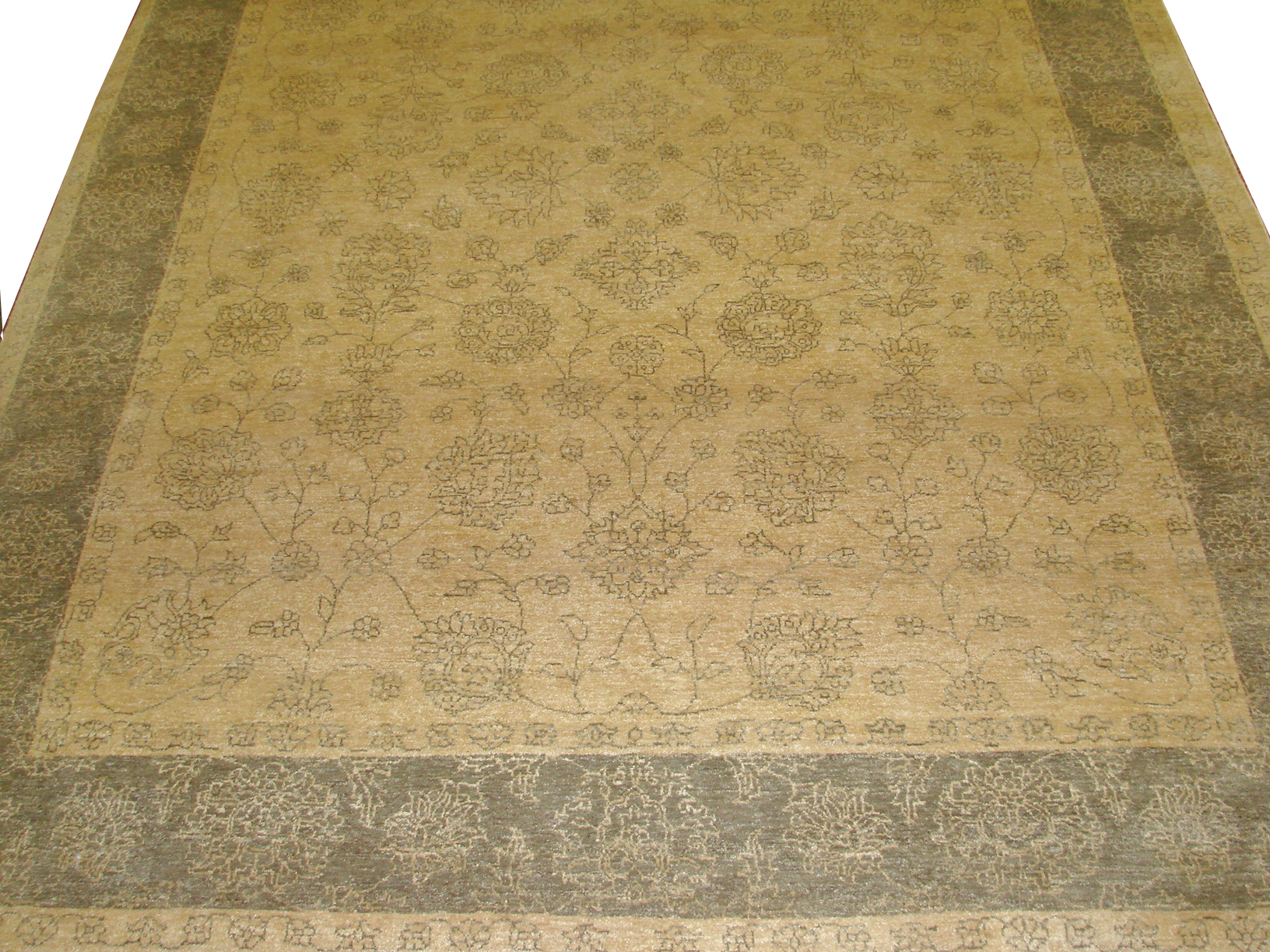 8x10 Traditional Hand Knotted Wool Area Rug - MR9540