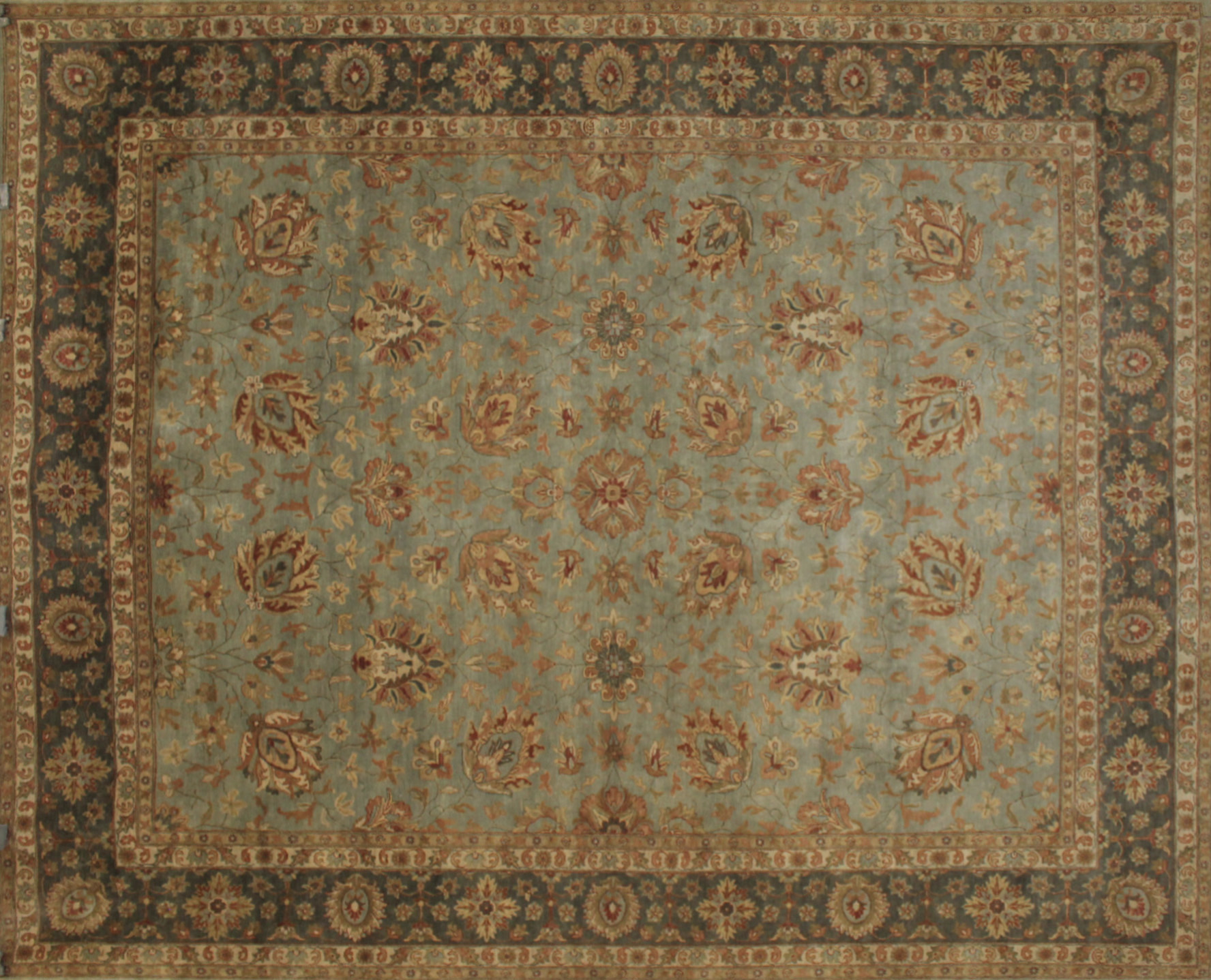 8x10 Traditional Hand Knotted Wool Area Rug - MR9550