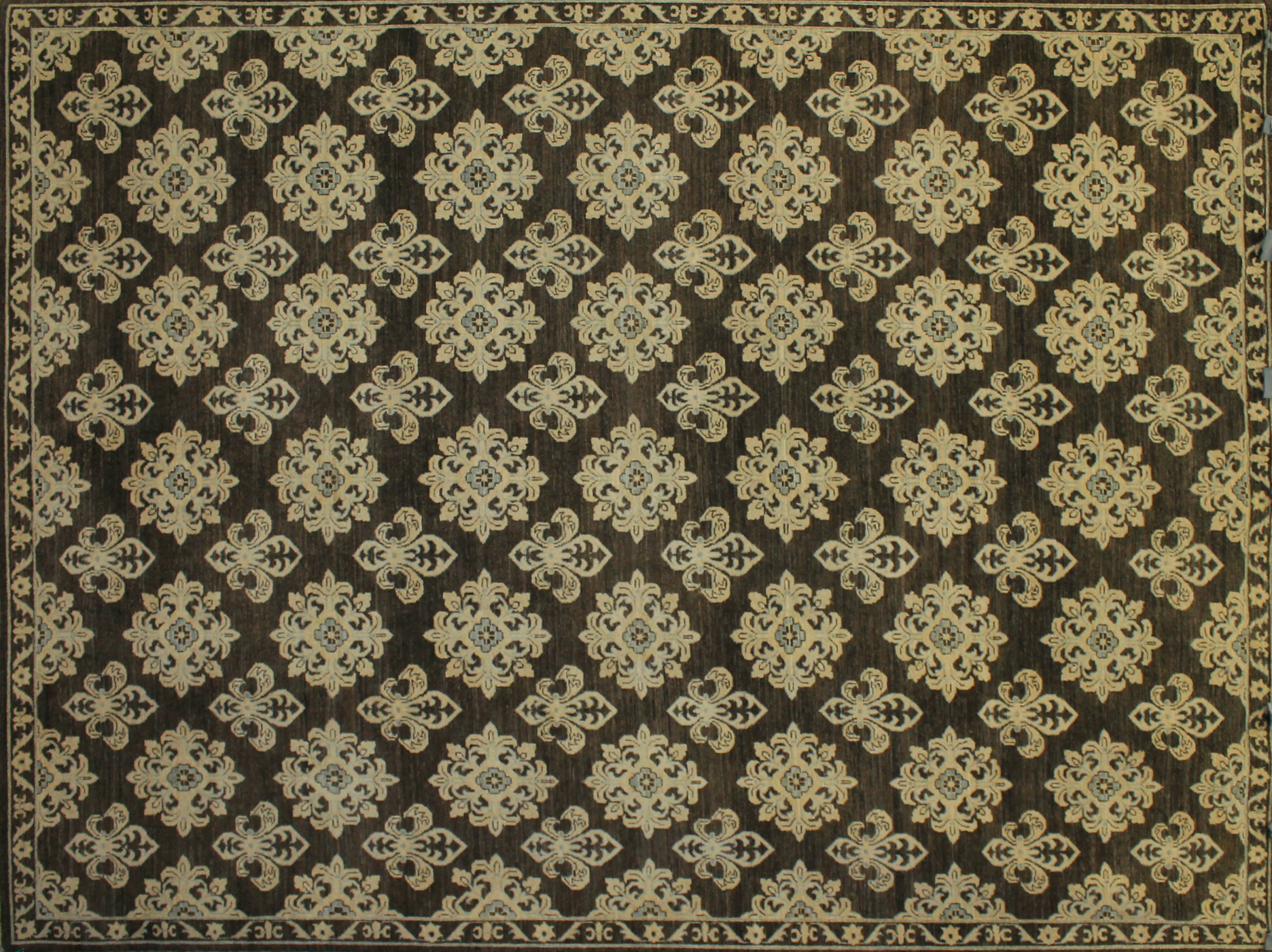 9x12 Peshawar Hand Knotted Wool Area Rug - MR9960